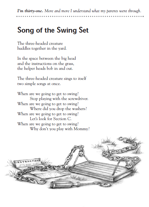 Poem Of The Week The Song Of The Swing Set Children S