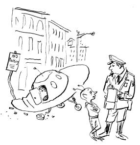 Cop with alien