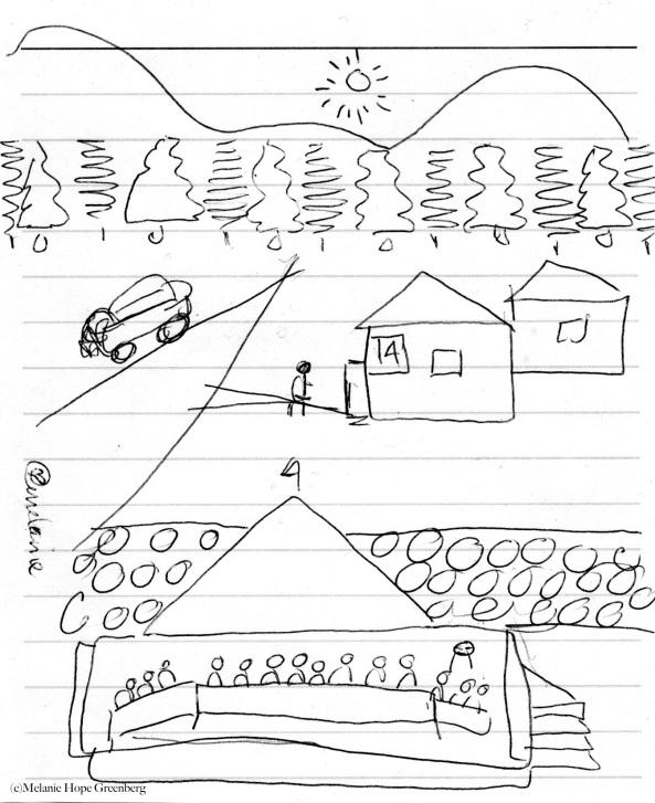 Cabin Doodle