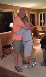 Hugging Sandy